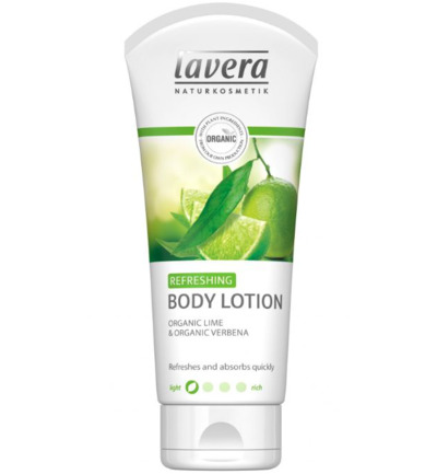 Bodylotion refreshing met lime en vebena
