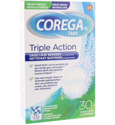 Tabletten triple action