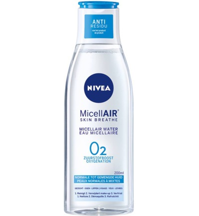 Visage essentials verfrissend micellair water