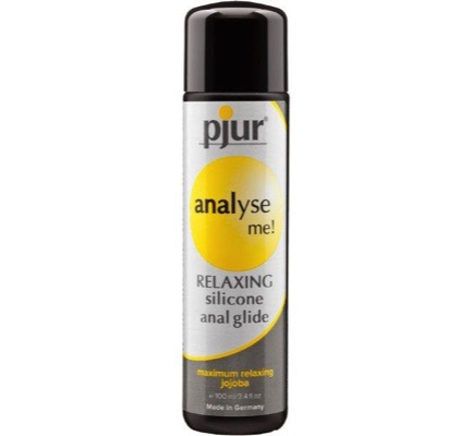 Analyse me relaxing silicone gel glijmiddel