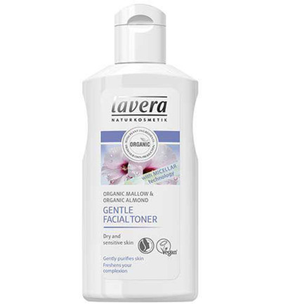 Cleans gentle facial toner