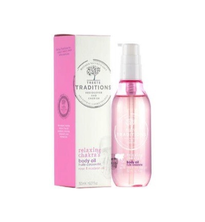 Treets Relaxing Chakra'S Body Oil (150ml)