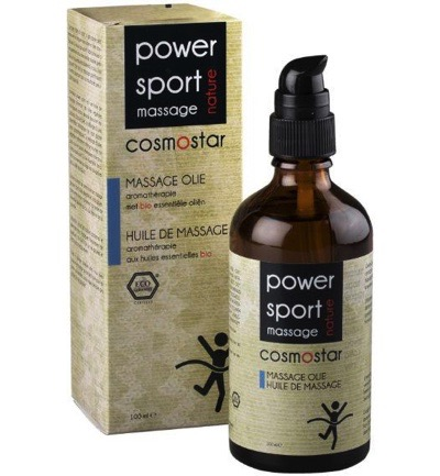 Massage olie sport power reviving energy