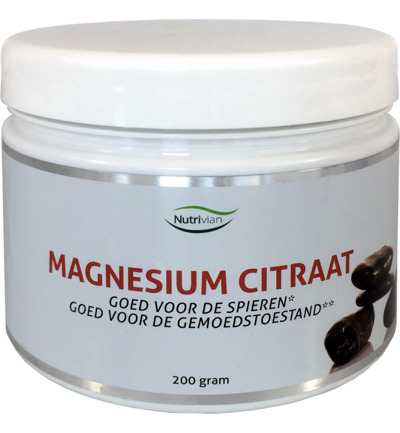 Magnesium citraat 200 mg poeder