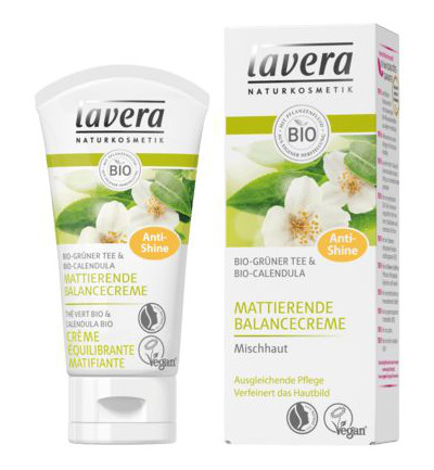 Matterende balancing cream green tea