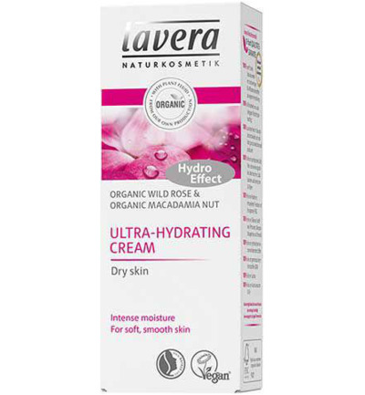 Ultra hydrating cream wild rose
