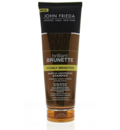 John Frieda Brilliant Brunette Shampoo Visibly Bright 250ml