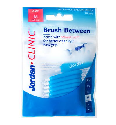 Clinic brush between maat M 0.6 mm