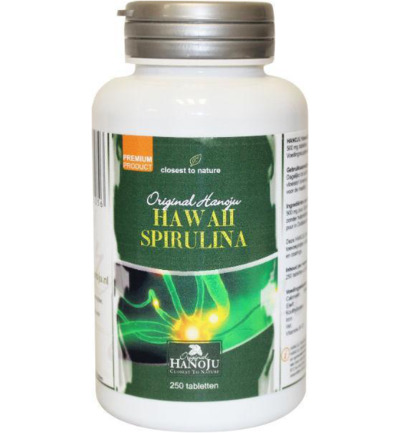 Spirulina Hawaiiaans 500 mg