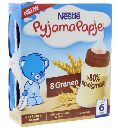 Pyjamapapje 8 granen 250 ml
