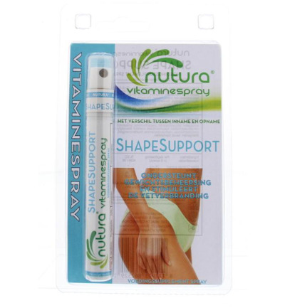 Shape support blister