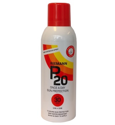 Continuous spray SPF30