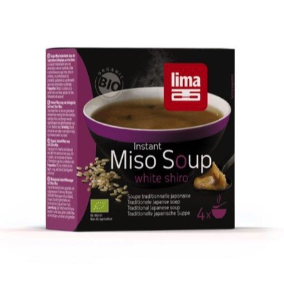 Instant miso soup white shiro