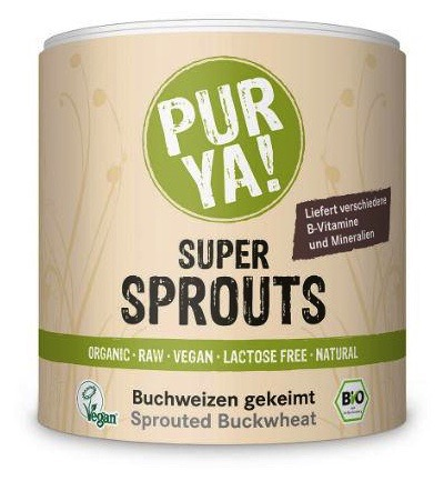 Super sprouts buckwheat