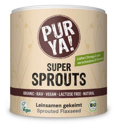 Super sprouts flax seeds