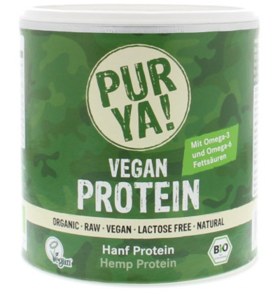 Vegan protein hemp