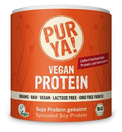 Vegan protein sprout soy