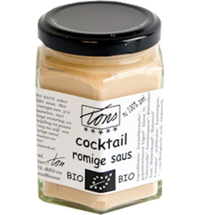 Saus cocktail romige