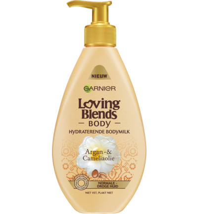 Body milk argan camelia oil
