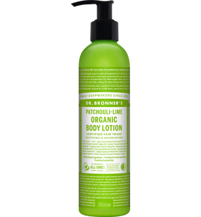 Bodylotion patchouli/lime