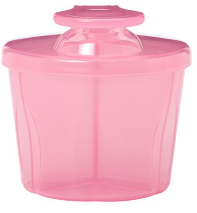 Melkpoeder dispenser roze