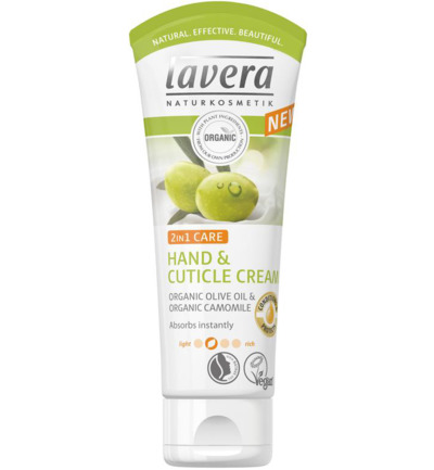 Hand & nagelcreme/cuticle cream 2 in 1 olive