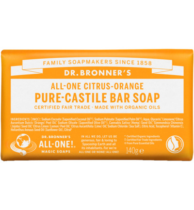 Barsoap citrus & orange
