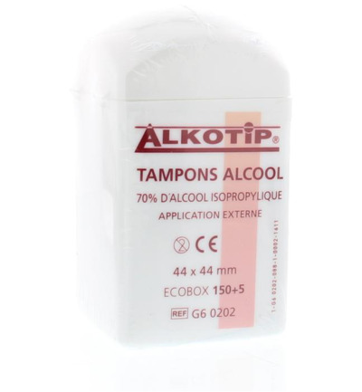 Alcoholdoekjes alkotip dispenser