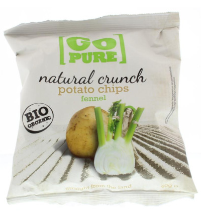 Chips natural crunch fennel