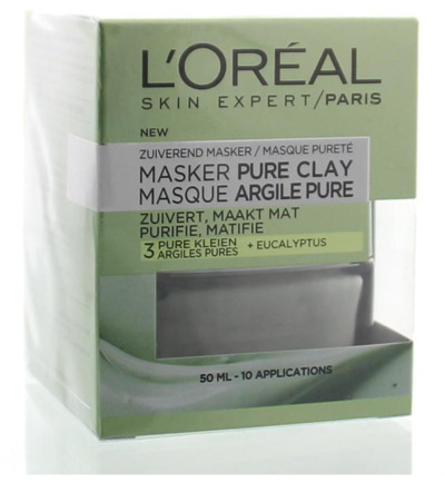 Zuiverend Pure Clay Masker