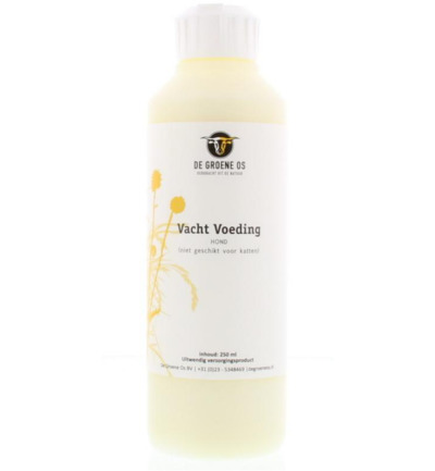 Conditioner vacht voeding hond