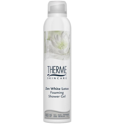 Foam shower zen white lotus