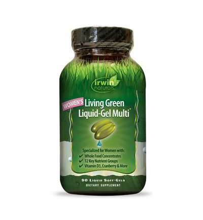 Living green liquid gel multi for women