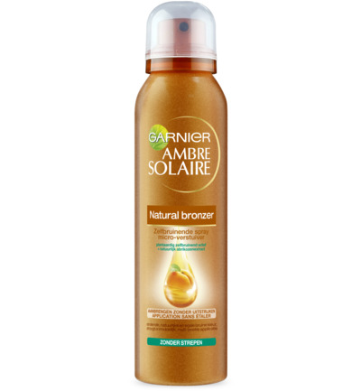 Ambre solaire bronzer natural spray