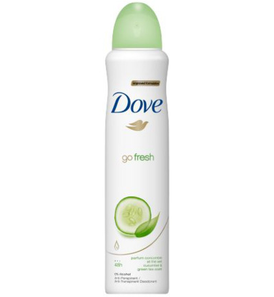 Deodorant spray Go fresh cucumber actie