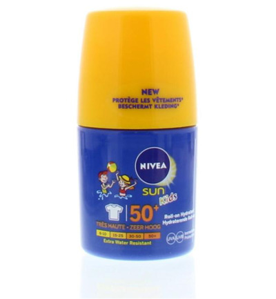 Sun protect & hydrate child roller F50+