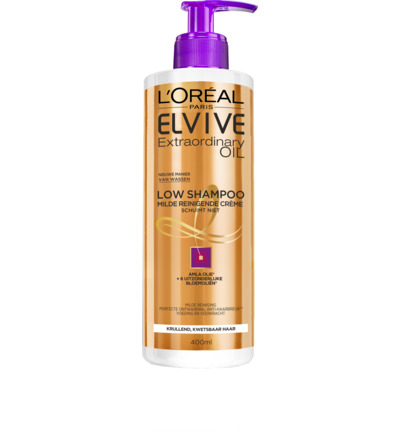 Elvive extraordinary oil low cremespoeling krul