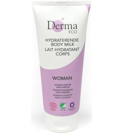 Woman bodymilk