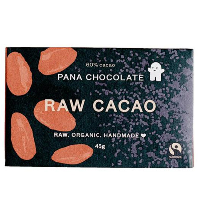 Raw chocolate 60% cacao