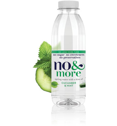 Fruitwater komkommer & mint
