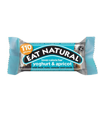 Afbeelding van Eat Natural Lower Calorie Bar Yoghurt & Abrikoos (30g)
