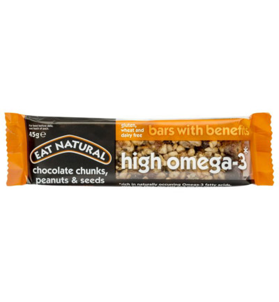 Bars with benefits high omega 3