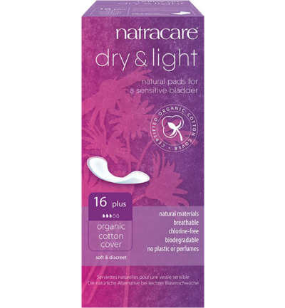 Dry & light plus Incontinentie verband
