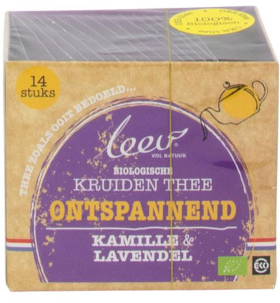 bio thee ontspanned kamille & lavendel