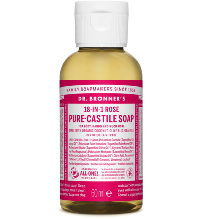 Liquid soap rose