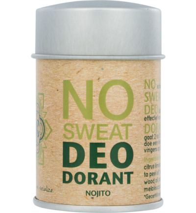 Deodorant poeder no sweat nojito