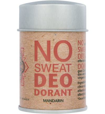 Deodorant poeder no sweat mandarin