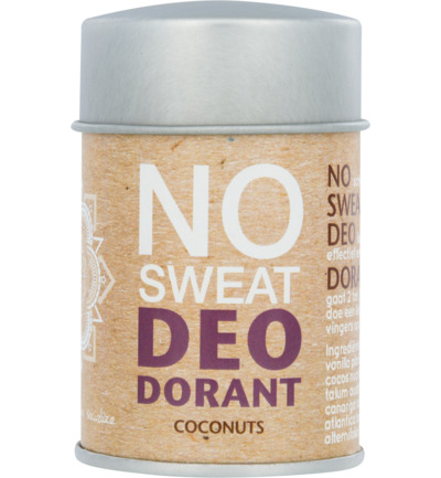 Deodorant poeder no sweat coconut
