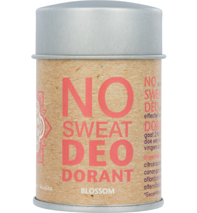 Deodorant poeder no sweat blossom