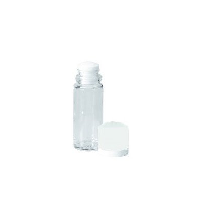 Depper flacon glas 30ml blauw depperopzet